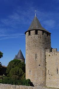 casa, ex, antic poble, antigues cases, Patrimoni, façana, França