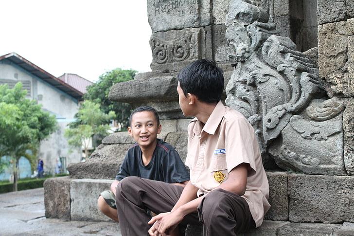 rozmowy, ludzie, Dyskusja, Czat, Indonezyjski, Komunikacja