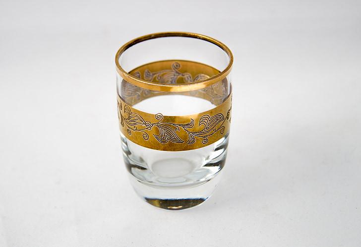 pile, drink, alcohol, vodka, cognac, pattern, gold