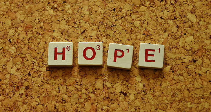 hope, word, letters, don't give up hope, text, communication, no people