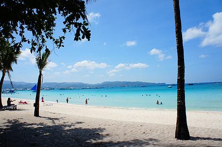 Boracay, Borakajaus paplūdimio, atostogų
