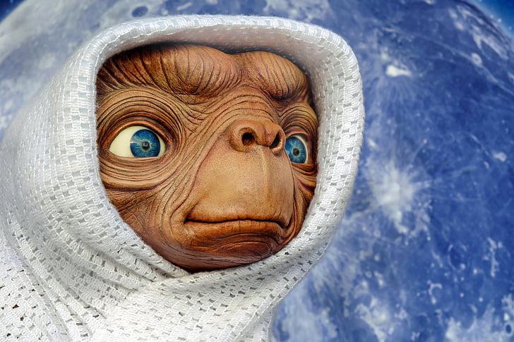 е, Позаземний, істота, фігура, фантазія, планети, Наукова фантастика