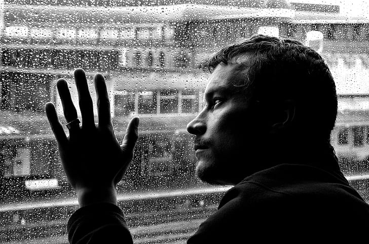 Free photo: depression, loneliness, man, mood, people, sickness, silhouette  | Hippopx