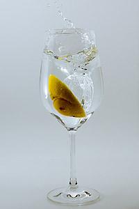 Copa de vi, vi, vidre, vidre, ulleres, transparents, beguda