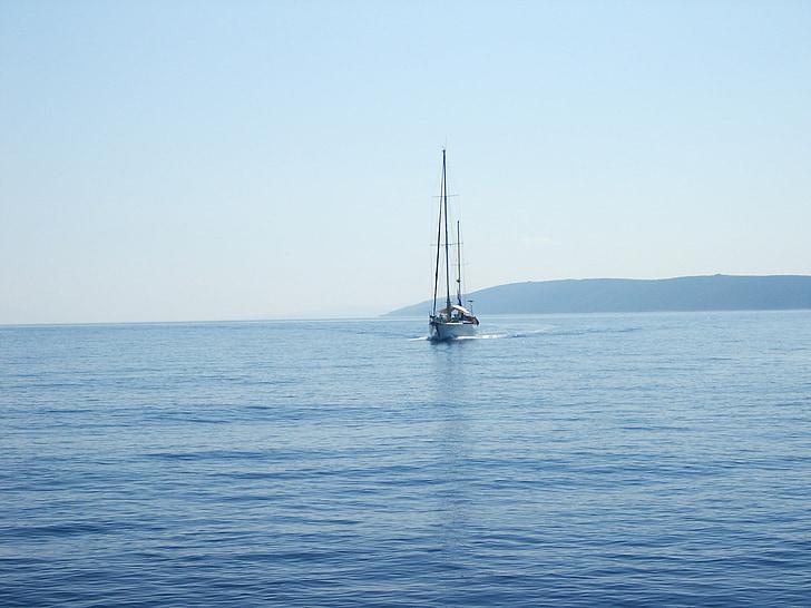 croatia, at sea, adriatic sea