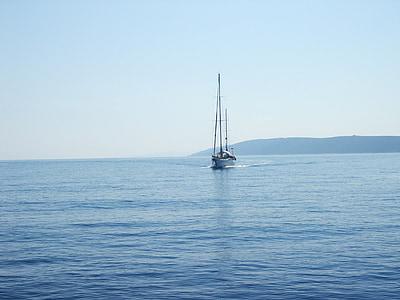 Croàcia, al mar, mar Adriàtica
