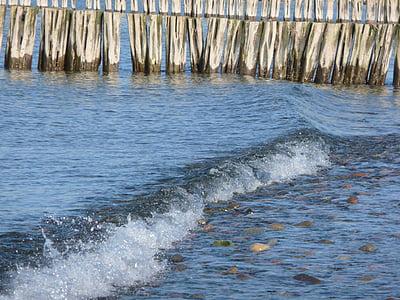 Mar Bàltic, Mar, l'aigua, fusta, ona, Onatge, vacances