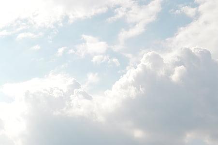 valo, Luonto, taivas, aurinkoinen, pilvet, pilvistä, Sää