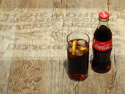 Coca-cola, cola de, Coca-Cola, marca, beguda, llimonada, set