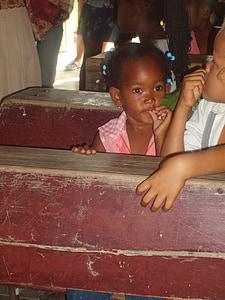 carribean, dominican republic, holiday, child, girl, school, school bank