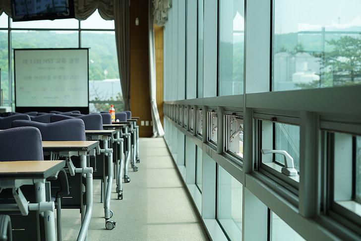 вікно, бізнес, офіс, семінар, Компанія, Аудиторія, класі