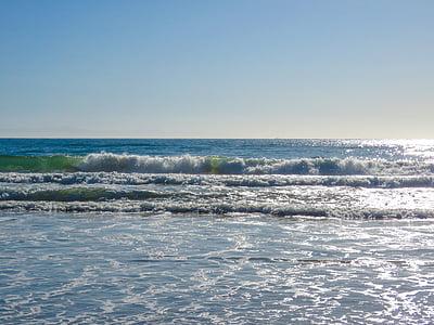 ones, oceà, Oceà Pacífic, Califòrnia, marea