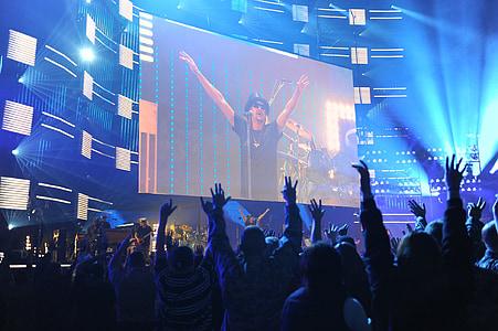 kid rock, concert, auditorium, performance, entertainment, music, on stage