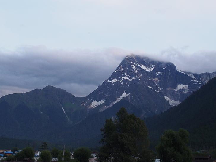 le paysage, nature, plateau, montagne