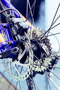 kalnu velosipēds, bremzes, disku bremzes, velosipēds, rats, Riteņbraukšana, riteņi
