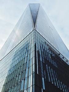 arquitectura, edifici, negoci, moderna, construcció, urbà, cel