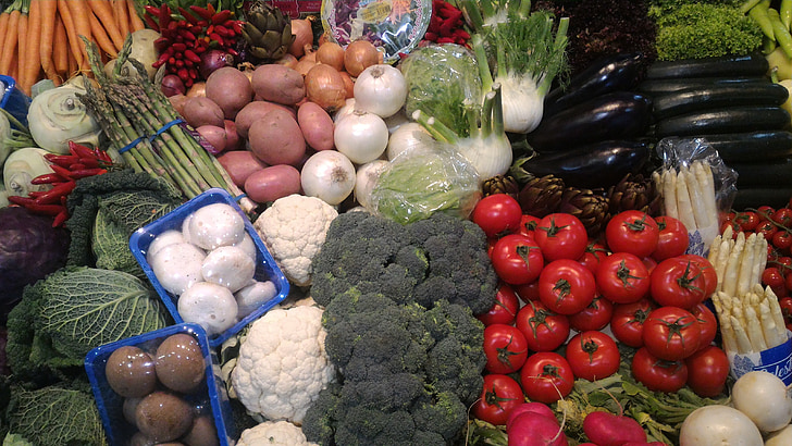ผัก, สุขภาพ, อาหาร