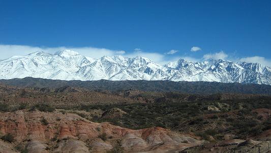 muntanya, muntanyes, natura, pic, l'aire lliure, cel, neu