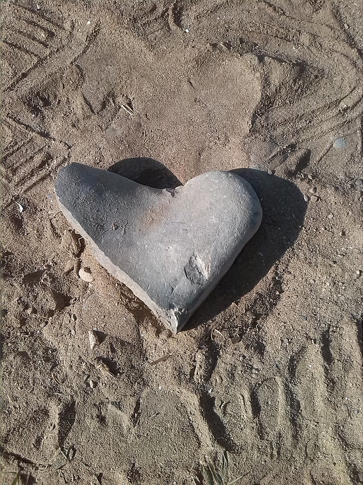 cuore di pietra, sentimenti, amore, Mio caro, pietre, cuore, simbolo