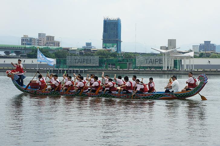 Drakbåtsfestival, Dragon boat race
