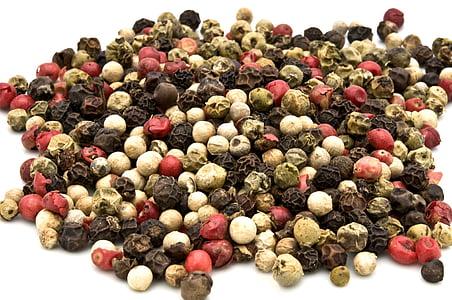 pebre, color, aliments, espècies, Orgànica, picant, herba