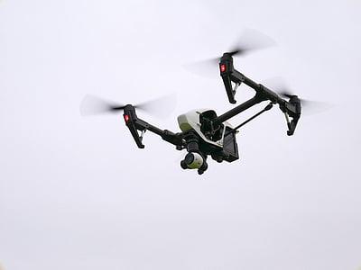 UAV, abellot, aèria, remot, volar, no tripulats, quadrocopter