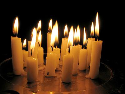 stearinlys, Candlelight, flamme, brænde, stearinlys, hyggeligt, lys