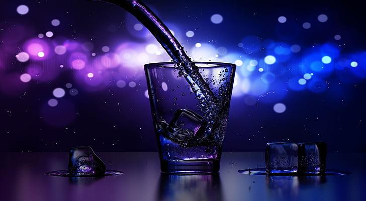 jook, Cup, hilja, Baar, pubi, jää, veini
