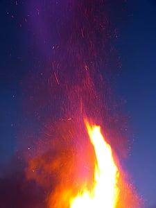 foc, cremar, l'infern, càlid, calor, flama, incendi