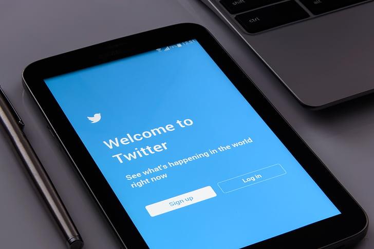 Twitter, obrazovky, sociálne, telefón, mobilný telefón, Technológia, Redakcia