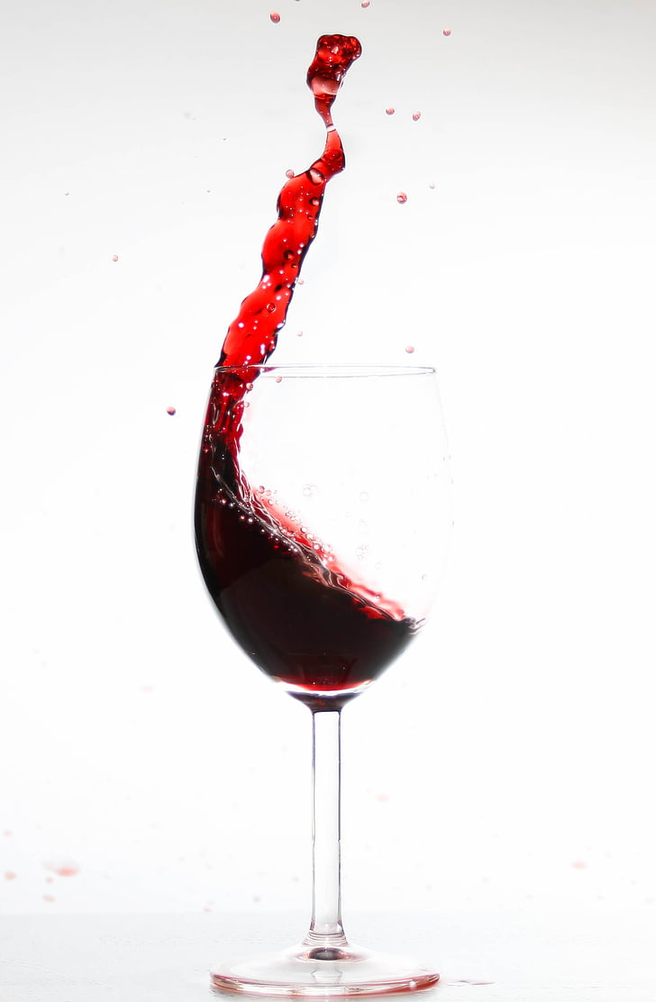 wine, spill over, empty, glass, wine glass, beverages, inject