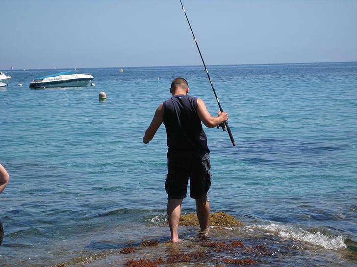 fishing, angling, water, sea, fish, leisure, rod