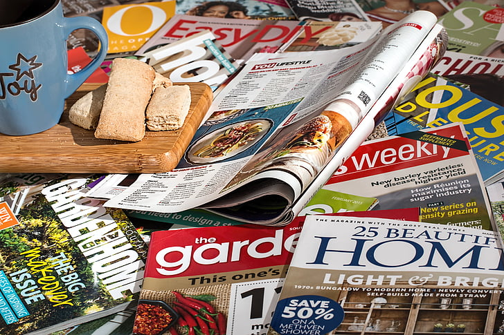 magazines, reading, leisure, information, read, inform, learning