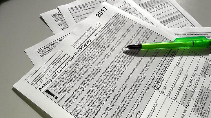 formų, mokesčio deklaracija, papildomos išlaidos, dokumentas, mokesčių forma, 1040 mokesčių forma, forma