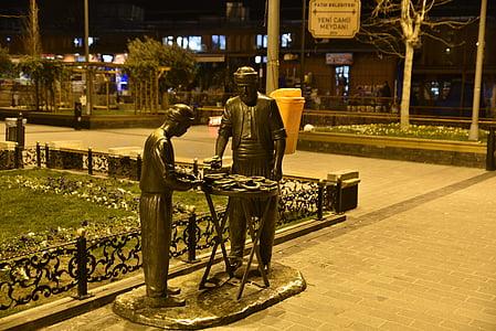 otomà, Eminönü, Gran Basar, escultura