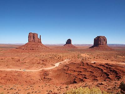 arizona, utah, landscape, mountain, desert, uSA, monument Valley