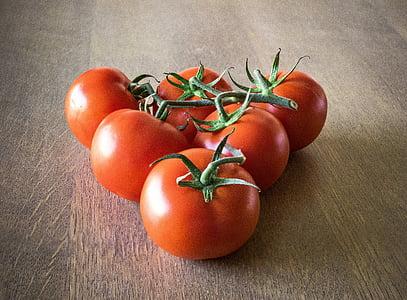 tomàquets, verdures, Sa, fruites i verdures, vermell, aliments, poder