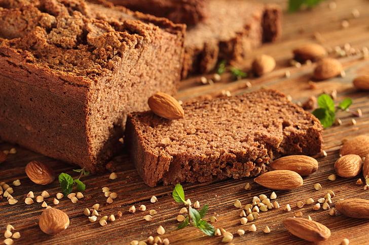 No-glutenfri brød, gluten, brød, kost, Fit, sundhed, en sund kost