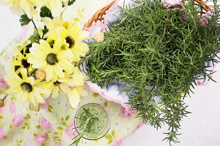 romaní, herba, aliments, Sa, espècies i herbes, cuina, fresc