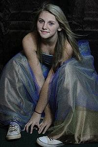 girl, teen, teenager, model, woman, beautiful, portrait