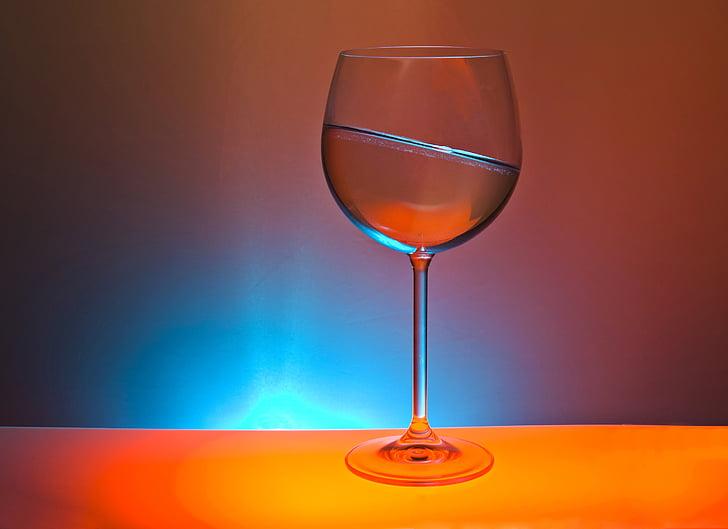 แก้ว, เครื่องดื่ม, มีสีสัน, แสง, เบี้ยว, มุมเฉียง, ตาราง