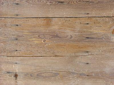 fons, fusta, textura, fusta vella, usats, aigües, rústic