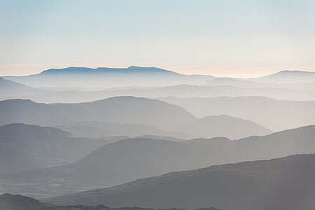 naturen, landskap, Mountain, resor, äventyr, Trek, vandra