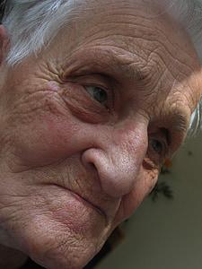 demenza, donna, vecchio, dipendente, età, morbo di Alzheimer, Casa di riposo