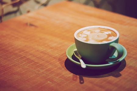 minuman, kafein, cappuccino, kopi, Piala, secangkir kopi, minuman