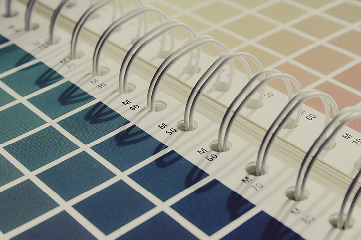 CMYK, color, ventilador de color, Selector de color, tintes d'impressió, impressió, imprimir