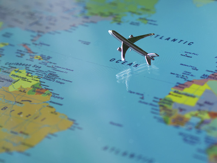 aeronaus, mapa del món, terra, global, continents, món, internacional