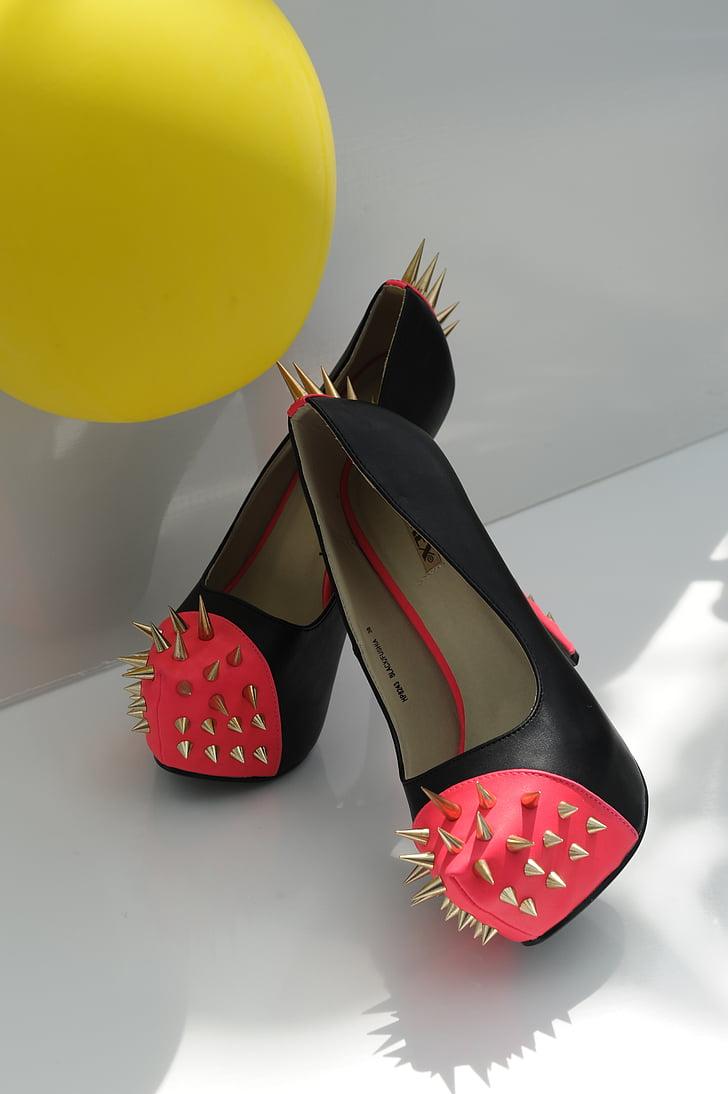 pumps, nails, shoes, erotic