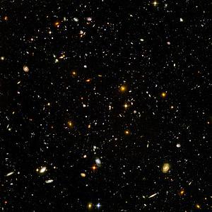 galàxies, univers, espai, infinit, infinit, Camp ultra profund del Hubble