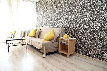 apartment, room, house, residential interior, interior design, decoration, comfortable apartment